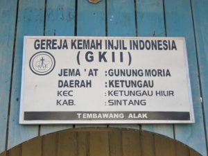 Nama Gereja Tembawang Alak