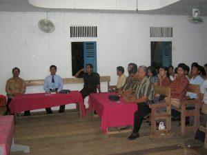 persiapan ibadah bersama jemaat tembawang alak