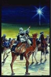 Orang majus melihat bintang Messias