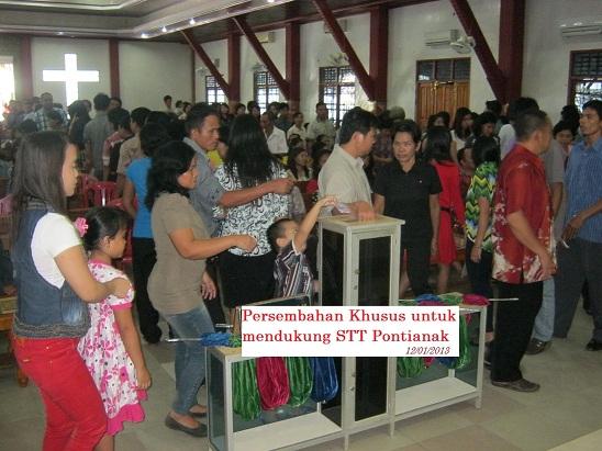Persembahan Khusus untuk mendukung STT Pontianak