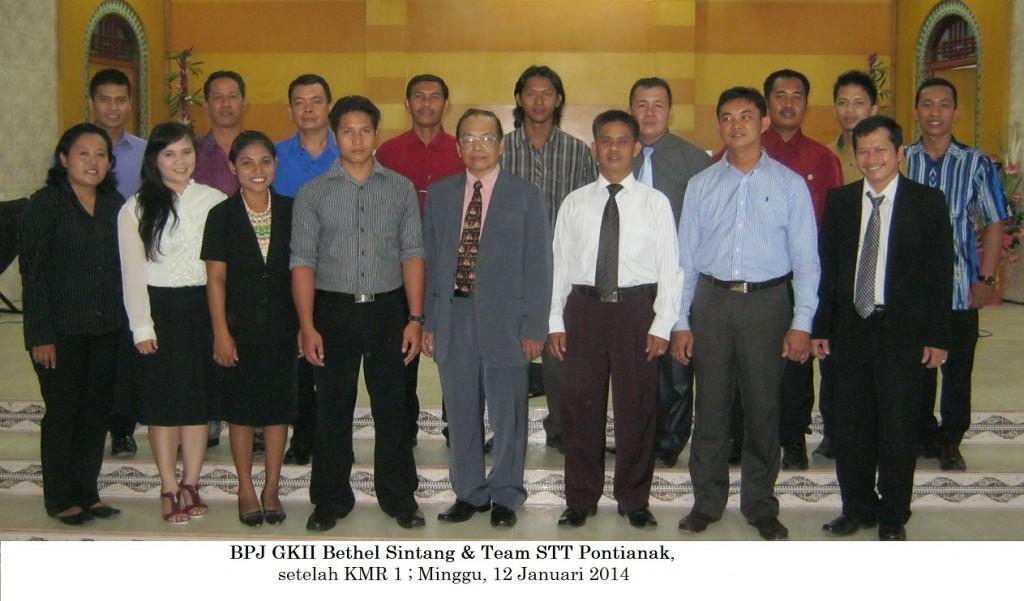 BPJ/ Aktivis GKII Bethel dan team STT Pontianak