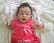 Nathalie Batara Christine saat berumur 1 bulan
