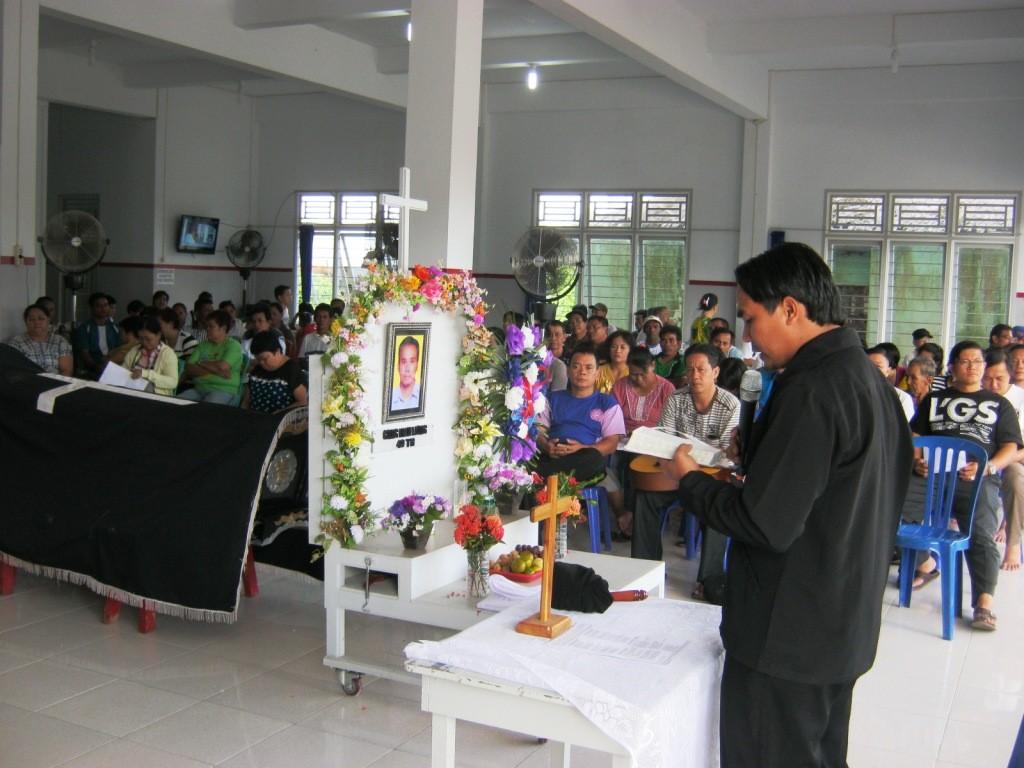 Kebaktian Penghiburan Bp Sujono alias Cong Hian Liong_1