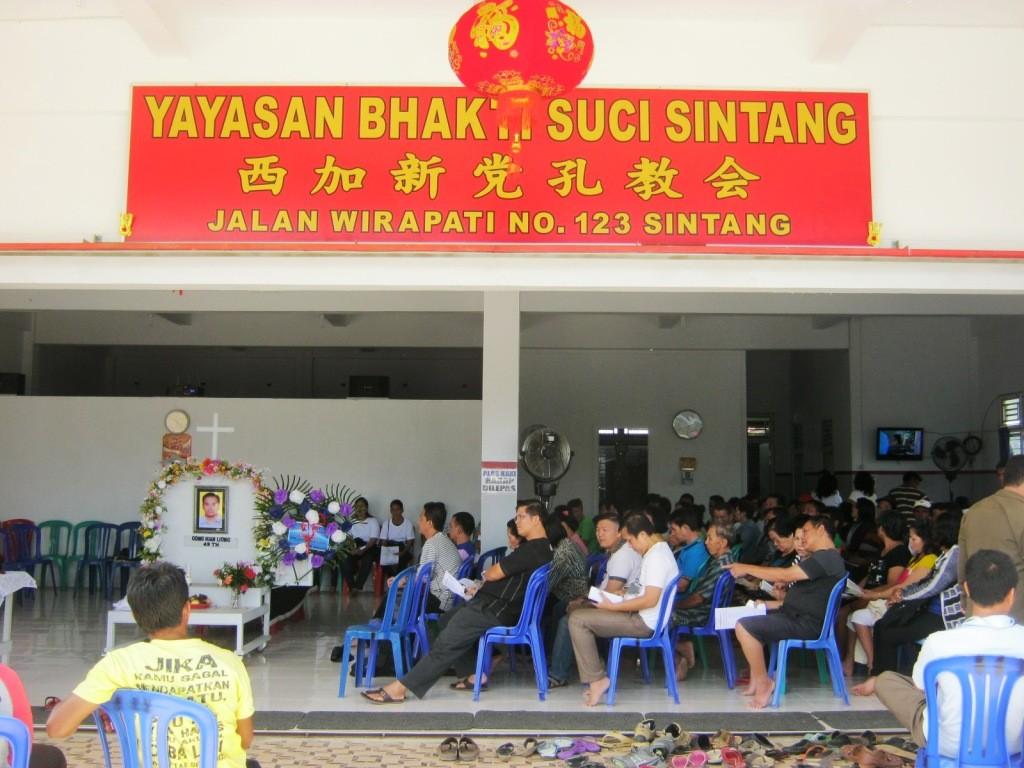 Kebaktian Penghiburan Bp Sujono alias Cong Hian Liong_2