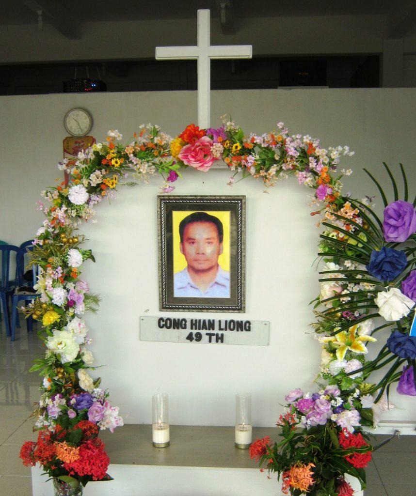Kebaktian Penghiburan Bp Sujono alias Cong Hian Liong_3