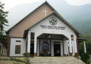 Gedung Gereja GKII Genezaret Kelam Permai