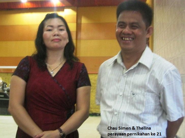 Rev. Ximen Chau & Ibu Thelina