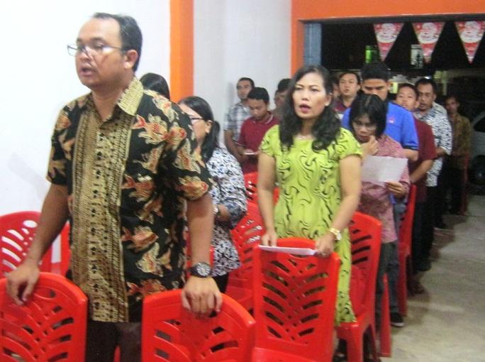 Bp. Adrianus Marten -Ketua Panitia Natal GKII Bethel Sintang Tahun 2015