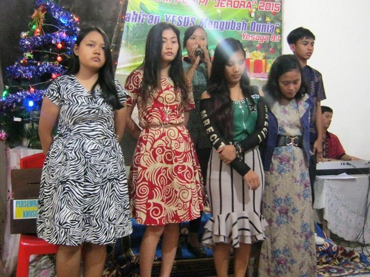 Persembahan Pujian dari Remaja GKII Pos PI Jerora