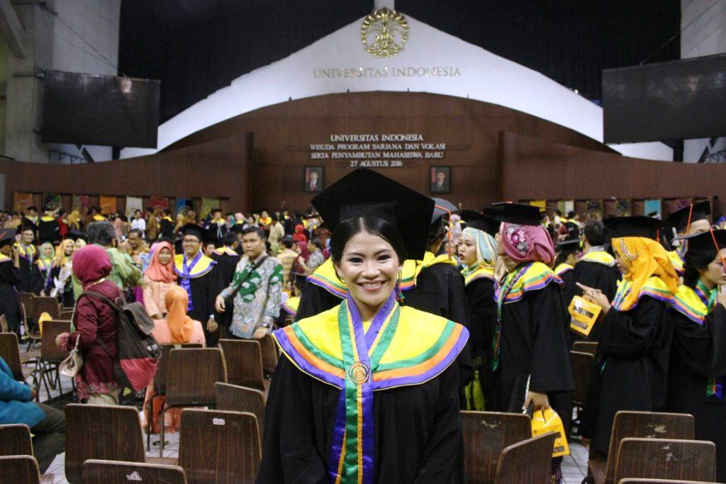 Wisuda: Ricka Apriyani, A.Md di Universitas Indonesia - Jakarta