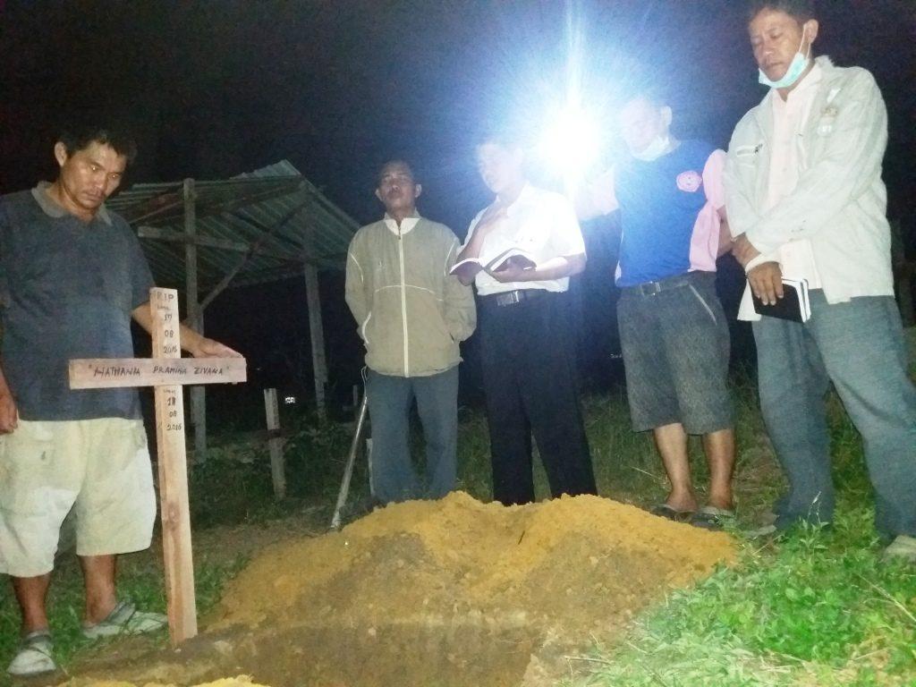 Pemakaman Nathania Pramina Zivana