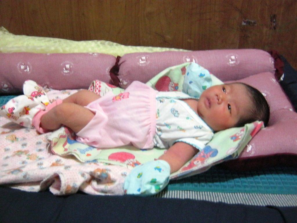 Angel Cristiany - Lahir di Sintang pada tanggal 19 Agustus 2016