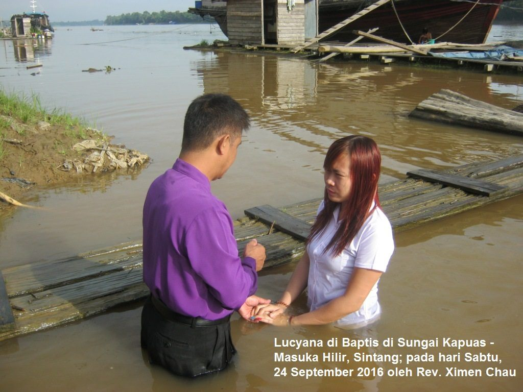 Lucyana di baptis