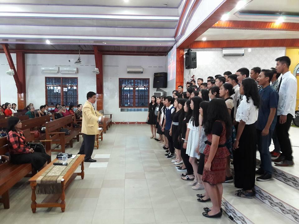 Paduan Suara Remaja PESPARAWI 2016 kab. Sintang
