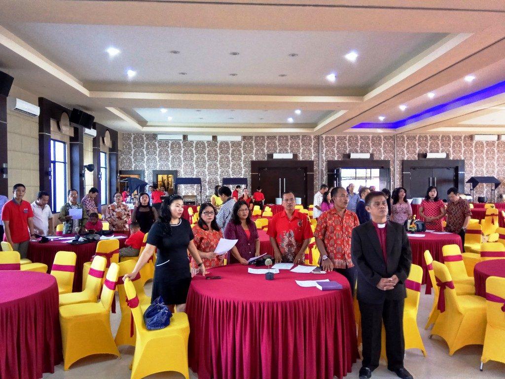 Jemaat GKII Bethel Sintang yang hadir bersama undangan lainnya