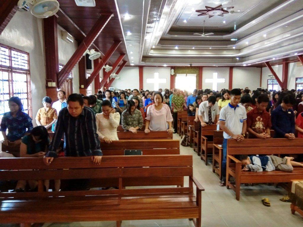 Suasana KMR pagi GKII Bethel Sintang, 4 Desember 2016