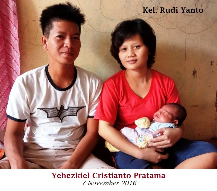 Kel. Rudi Yanto bersama Yehezkiel Cristianto Pratama