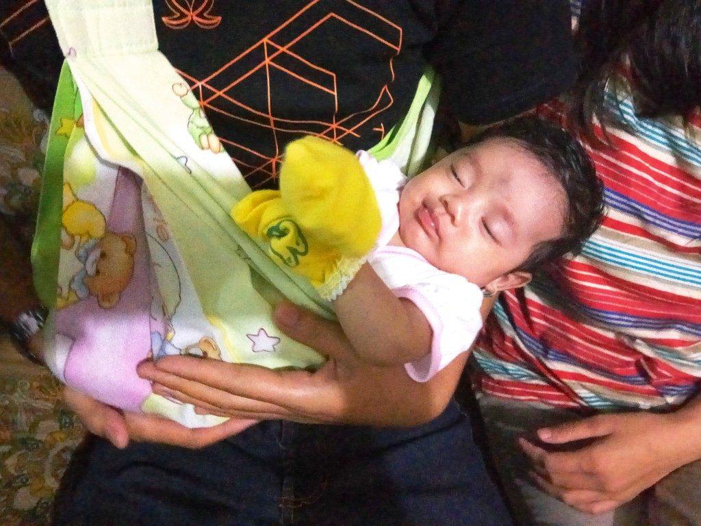 Michelle Elzira yang lahir pada tanggal 9 Mei 2017